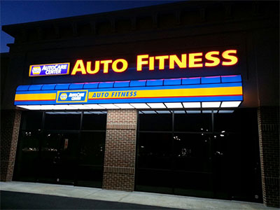 Auto Sign in Gainesville | Auto Fitness
